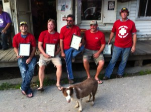 Rabbit Hash Heroes with mayor Lucy Lou